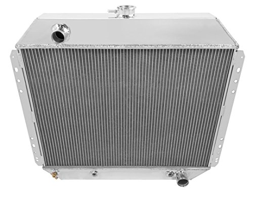 Champion Cooling, Ford Branco/Ford F-Series 3 Row All Aluminum Radiator, (1973 Ford F-250 Pickup)