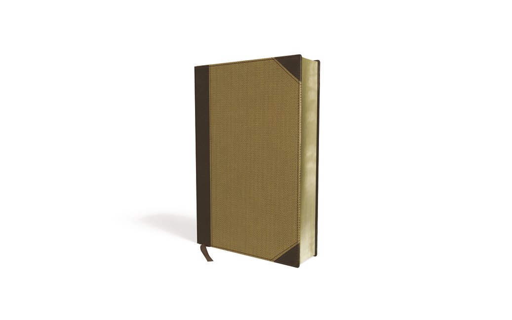 NIV, Cultural Backgrounds Study Bible, Large Print, Imitation Leather, Tan, Red Letter Edition: Bringing to Life the Ancient World of Scripture