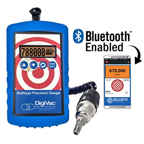 DigiVac  Bullseye Precision Gauge with Bluetooth