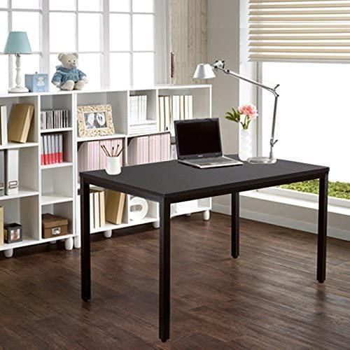 NeedHome 55inches Computer Desk Large Office Desk Writing Desk Workstation Table with BIFMA Certification,AC3CB-140-HCA