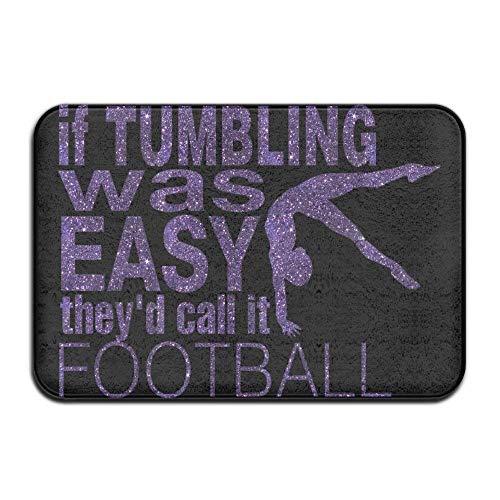 Nick Thoreaufhed HomeDoor Mat Football Tumbling Easy DoormatDoor Mats Entrance Rugs Anti Slip 4060 for Indoor Outdoor