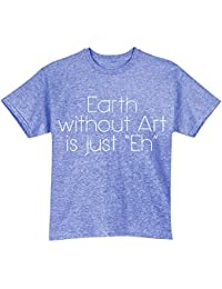 Unisex Adult EARTH WITHOUT ART T-SHIRT