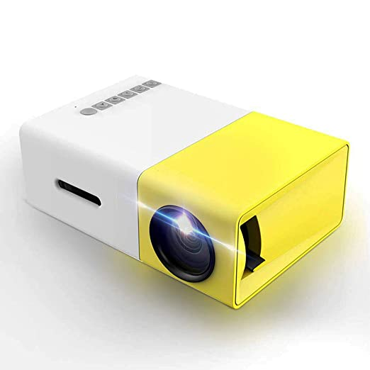 Proyector, Mini proyector LED portátil, Smartphone Proyector de ...