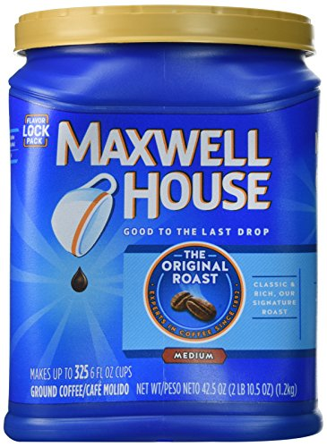 Maxwell House The Original Roast Ground Coffee, 42.5oz (Pack Of 2)