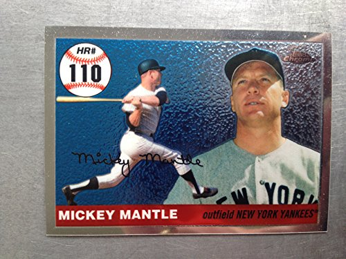 2007 Topps Chrome Mickey Mantle Story MHR110 Mickey Mantle NM/M (Near Mint/Mint)