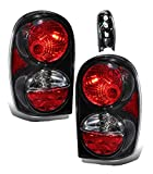 Best Set For Jeeps - SPPC Black Euro Tail Lights Assembly Set Review