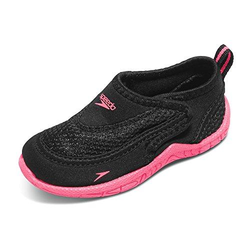 Speedo Toddler Surfwalker Pro 2.0 Water Shoe & Travel Sunscreen Spray Bundle Pink Gb0CUlCG