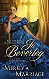 Merely a Marriage (Berkley Sensation) by  Jo Beverley in stock, buy online here