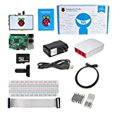 SainSmart Raspberry Pi 3 Model B Ultimate Kit with 5 inch LCD (Red&White Case)