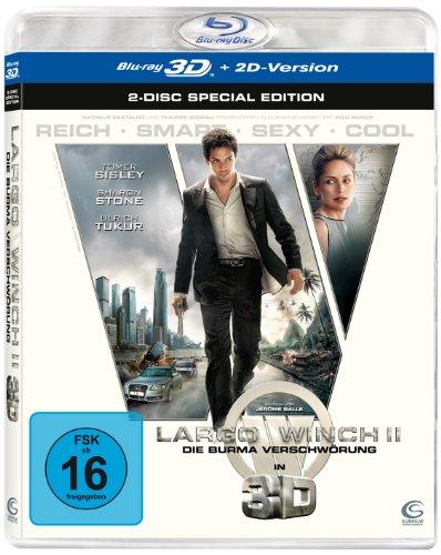 Largo Winch 2 [Blu-ray 3D] (German Import) (Largo Winch 2)