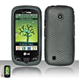 Skin Case for Verizon LG Cosmos Touch VN270 + LCD Screen Guard Film (Free Wristband)