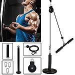 Pulley-Cable-Machine-Avambraccio-Polso-Roller-Trainer-Triceps-Pulley-System-per-Arm-Strength-Training-Strength-Training-Arm-Machine-per-LAT-Pull-Down-Bicipiti-Attrezzatura-per-body-training