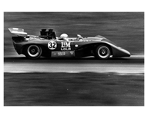 1971 L&M Lola T222 Can Am Road America Race Bob Akin Photo Poster