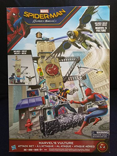 Marvel Spider-Man Homecoming Marvel's Vulture Attack Set New In Unopened Box