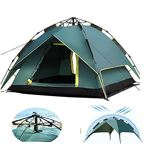 HILLPOW Outdoor Gear 2-3 Person Waterproof Portable Camping Tent