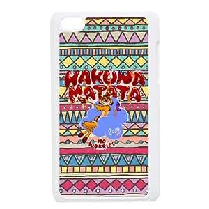 Hakuna Matata iPod Touch 4 Case White W9876525