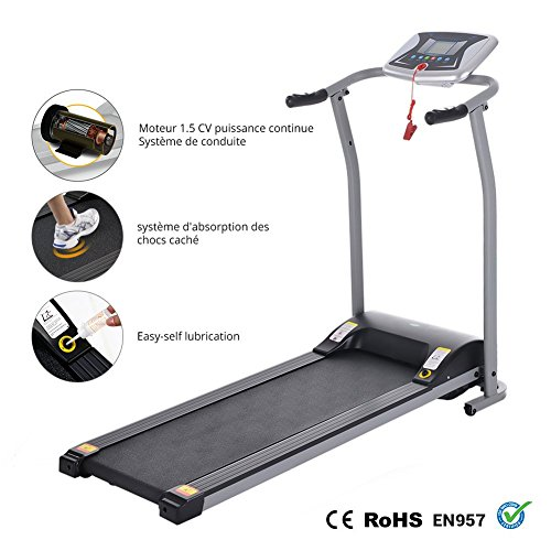 Miageek Fitness Folding Electric Support Motorized Power Jogging Treadmills Walking Running Machine Trainer Equipment Easy Assembly [US Stock] by Miageek (Image #3)