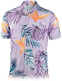 Mens Dry Swing Mediterranean Texture Camp Shirt #1551