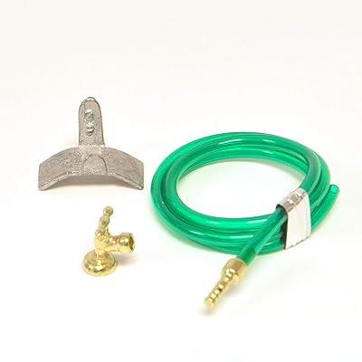 Dollhouse Miniature Garden Hose and Faucet Set #T8434: Garden & Outdoor