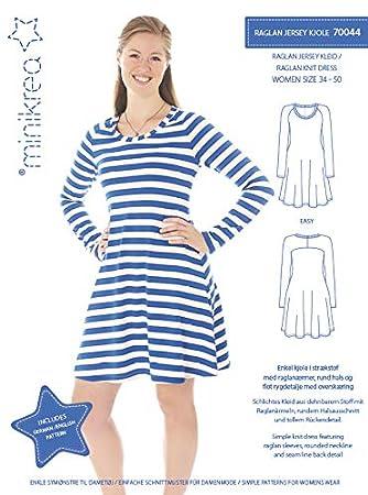 Jersey kleid schnittmuster madchen