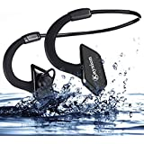 Waterproof IP66 Sweatproof Outdoors Sports Wireless Headsets KAYSION Bluetooth V 4.1 Earbuds Earphones Headphones with 100 Hours Super long Standby Time,6 Hours Music Time ,Support Mic Hands Free for Any Bluetooth-enabled Devices