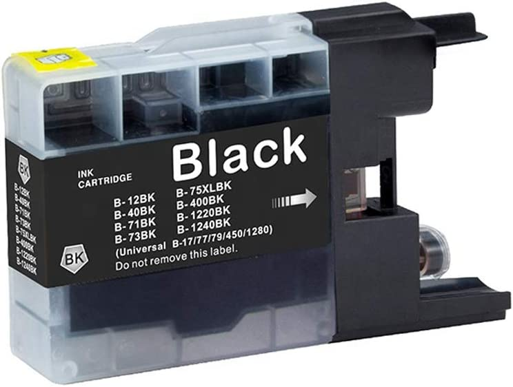 Ninjatoner Remanufactured Ink Cartridge Replacement for Brother LC75 LC71 LC79 High Yield to Use with MFC-J6510DW MFC-J6710DW MFC-J6910DW MFC-J280W MFC-J425W 1 Black, 1 Cyan, 1 Magenta, 1 Yellow