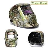 Image of Welding Helmet,AUDEW Solar Auto Darkening Welding Helmet Arc Tig Mig Mask Grinding