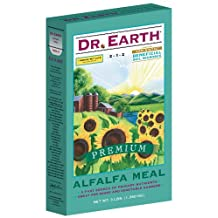 DR EARTH INC Alfalfa Meal Organic Fertilizer, 2-1-2, 3-Lb. Box