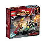 レゴ スーパーヒーローズ アイアンマン™ vs. マンダリン™:究極のショーダウン 76008