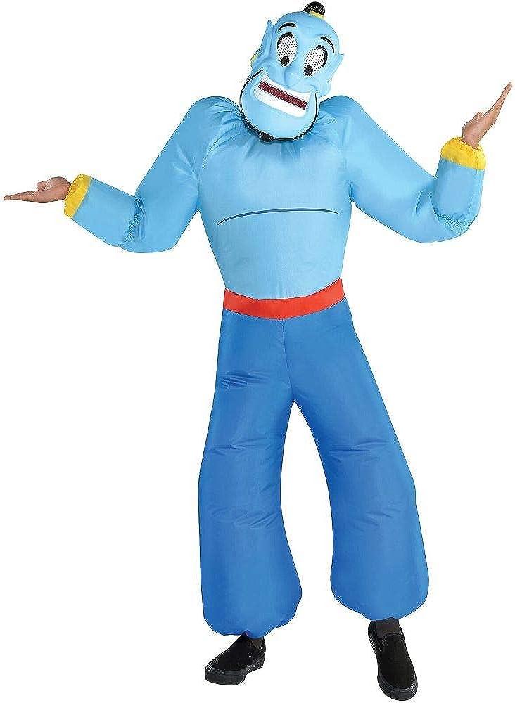 Desconocido Disfraz de Genio Inflable de Halloween para niños ...