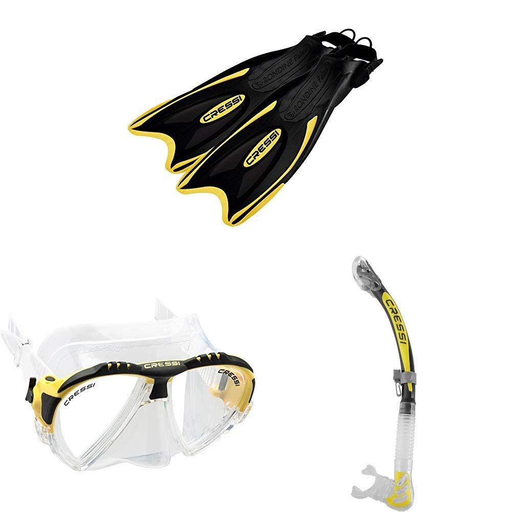 Cressi Unisex Alpha Ultra Dry Snorkel Ideal For Snorkelling Apnea And Diving