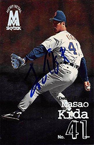 Masao Kida autographed baseball card (Detroit Tigers, FT) 1999 Skybox Heavy Metal #127 ()