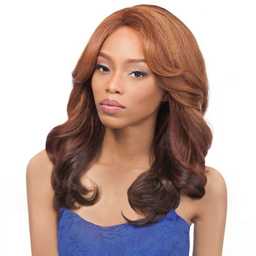 [Outre Synthetic Lace Front Wig L Part Perm Yaki 18