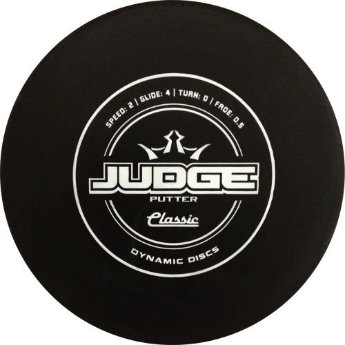 Dynamic Discs Disc Golf Classic Hard Judge Disc Golf Disc (Colors will Vary) 170-176g by Dynamic Discs
