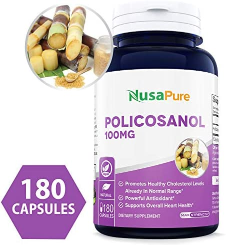 Policosanol Capsules Supports Cholesterol Circulation product image