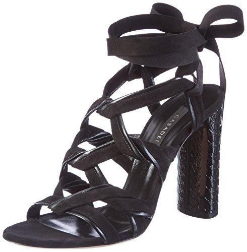Casadei 1l573 - Sandalias Mujer Negro (Nero)