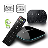 [Free Mini Keyboard] 2017 Model Globmall Android 6.0 TV Box, X2 Android TV Box Amlogic S905X 64 Bits 16GB ROM and True 4K Playing