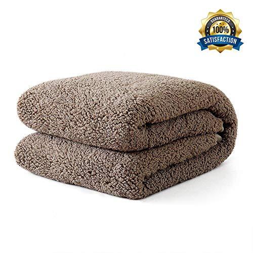 Panku Sherpa Throw Double Blanket Soft Lightweight