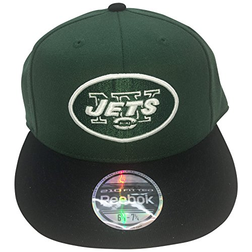 Reebok NFL New York Jets Fitted Hat 6 7/8-7 1/4 ()