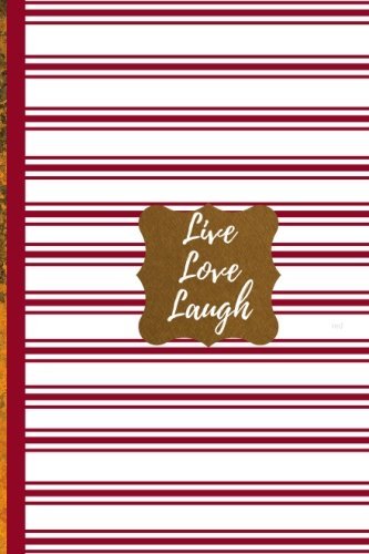 Read Online Live Love Laugh- Red: Ruled Journal/Folio Insert/Travelers Notebook Inserts/Diary (Classic Inserts and Journal Notebooks) pdf