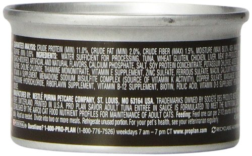Purina-Pro-Plan-Wet-Cat-Food-Savor-Adult-Tuna-Entre-3-Ounce-Can-Pack-of-24