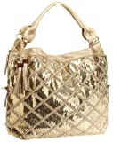 BIG BUDDHA Jsassy Hobo,Gold,One Size, Bags Central