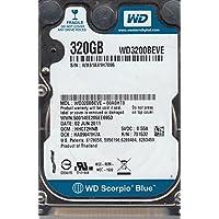 WD3200BEVE-00A0HT0, DCM HHCT2HNB, Western Digital 320GB IDE 2.5 Hard Drive