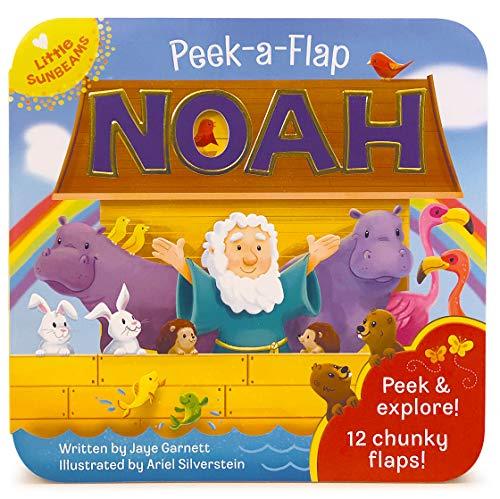 (Noah Peek a Flap Board Book (Little Sunbeams) )