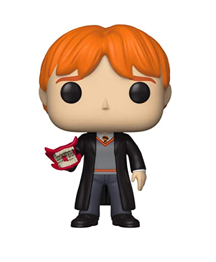 amazon com funko pop harry potter ron with howler toys games