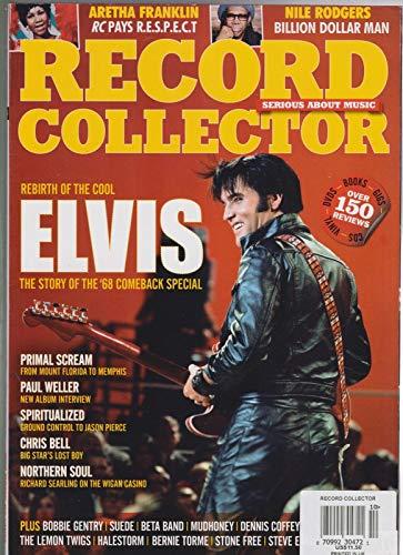 RECORD COLLECTOR UK MAGAZINE #484 SEPT 2018, ELVIS PRESLEY, ARETHA - Elvis Collectors Record