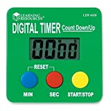 Learning Resources Digital Timer, Count