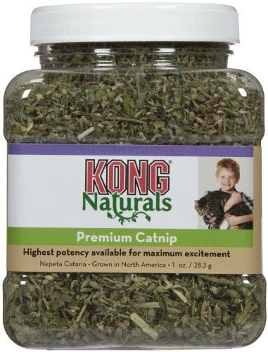 - Kong Natural Catnip Size:1 Oz Packs:Pack of 2