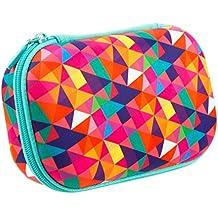 ZIPIT Colorz Storage Box, Colorful Triangles