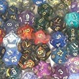 Chessex Manufacturing 29212 Signature Polyhedral D12 Assortment Dice, Bag - 50